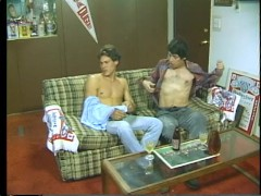 Ugly couch suck and fuck in the 80s - Stallion Video