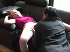 French blonde girl fuckers her driver - Telsev