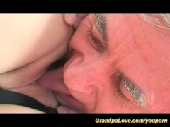 Granpa gives sex surprise