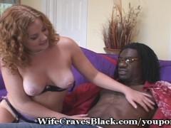 Redhead Meets Black Cock