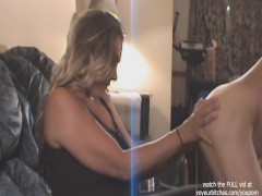 CFNM - milf watches nude male