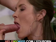 Delivery boy bangs young wife