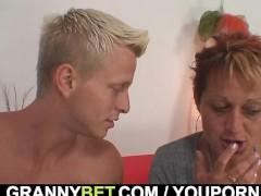 Hot looking guy bangs granny neighbour