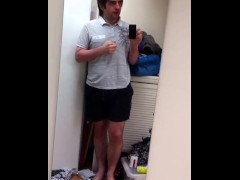 Sneezing and Foot Fetish Male Amateur Fetish Model