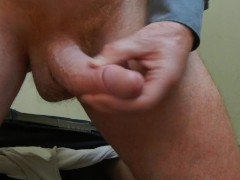 Mein hundertsechsundfünfzigster Orgasmus - Orgasm 156th - I drop my pants and then I wank to cum
