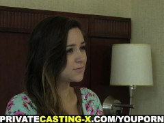 Private Casting X - Teeny welcomes co...