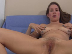 She gives YOU very detailed masturbation instruction, follow along