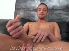 HD - GayCastings Cute guy who loves sex wants to be paid for it