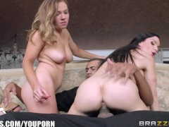 Mom and Stepdaughter get fucked by cop - Brazzers