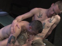 Airman Takes a Full Load - Raging Stallion