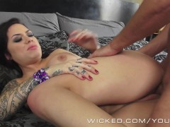 Wicked - Inked angel Karmen Karma gets pounded
