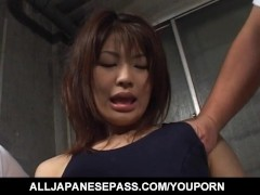 Haruki Morikawa has cunt fingered and aroused under swimming suit