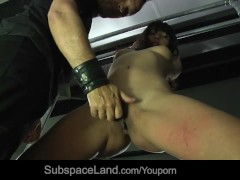 Japanese young slut bondaged and rough pained