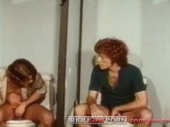 Vintage Glory Hole and Bathroom Action - A DREAM OF BODY (1972)