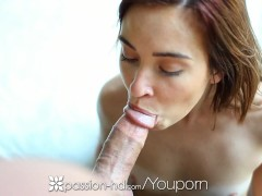 Passion-HD - Kaylee Haze plays with pussy until her bfs cock is hard