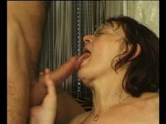 Mature granny getting dildo'd - Julia Reaves