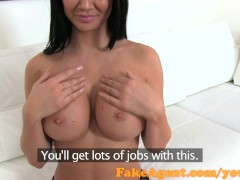 FakeAgent Sexy English babe sucks and fucks in casting interview