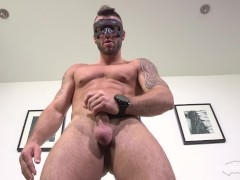 Maskurbate Masked Hottie Has A Perfect Body And Cock