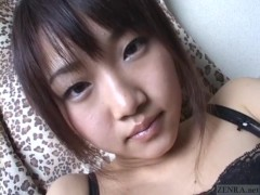 Subtitled virtual Japanese masturbation support in POV