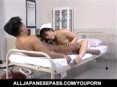 : Eri Ueno nurse has twat fucked on and on