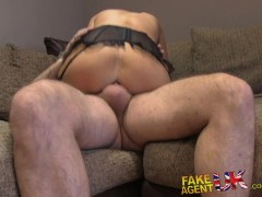FakeAgentUK Ass to mouth after anal creampie