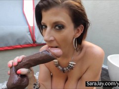 Sara Jay Loves Her Toys Big and Black!