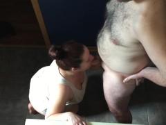 Slut Wife Sucking Dick