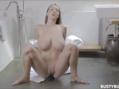 YouPorn - Busty Buffy brushing teeth and masturbating