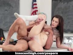 InnocentHigh - Hot Girl Fucked In Chemistry Lab by Teacher