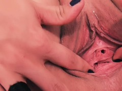 Peehole Insertion and Gaping. Pussy Stretching, Drum Sticks.
