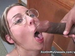Real whore Delilah Strong sucks big black cock for a nice thick cumloads