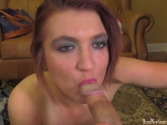 18 year old fucked then swallowing at BrandNewAmateurs