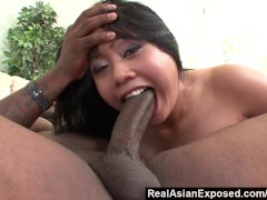 RealAsianExposed - Kya Tropic s Holes Are Too tight For huge Black Cock