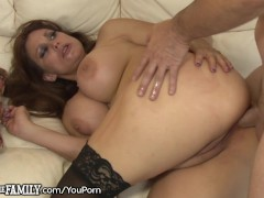 - Nasty Mother-In-Law Gives him Her Asshole/><br/>                         <span class=
