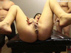 LEXI NICOLE GETS 5 CREAMPIES IN GANGBANG