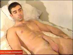 Watch Marc's huge cock: A innocent delivery guy!