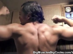 Asian Body Builder Jason Katana