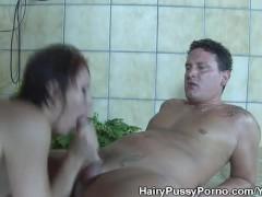 Hairy Pussy Helen Brooke Ass Fucked