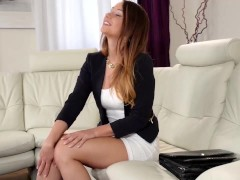 Talent Scout - Young Dutch Teen Shows Off Her Fucking Talents