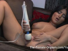 Arab Babe First Time Orgasms with Hit...