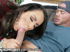 Mom Reagan Foxx Checks Out Son-In-Laws Cock