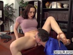 Digital Playground - Trophy Wife Touchdown Chanel Preston cheats on husband