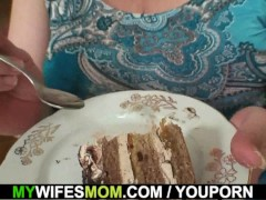 Huge boobs mother inlaw