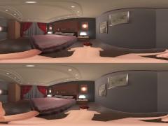 Hotel Bedroom with Tiffany