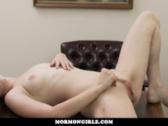 MormonGirlz-- Scared Teen Touches Herself For Church Leader