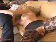 big boned milf mom with huge pussy takes huge black cock