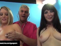 Busty Blonde, Maggie Green & UK Samantha Bentley Get Fucked!