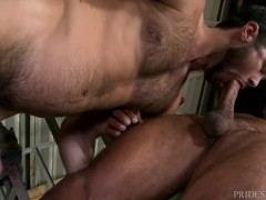ExtraBigDicks Mike De Marko Buttfucked by Ebony Hunk