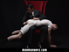 MormonBoyz-Spanked and milked by hot older man in a suit