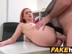Fake Agent Horny Redhe... video